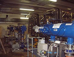 Сетчатые напорные автоматические фильтры Yamit (Ямит) AF-916 серии AF-900