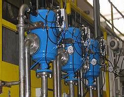 Сетчатые напорные автоматические фильтры Yamit (Ямит) AF-206 серии AF-200