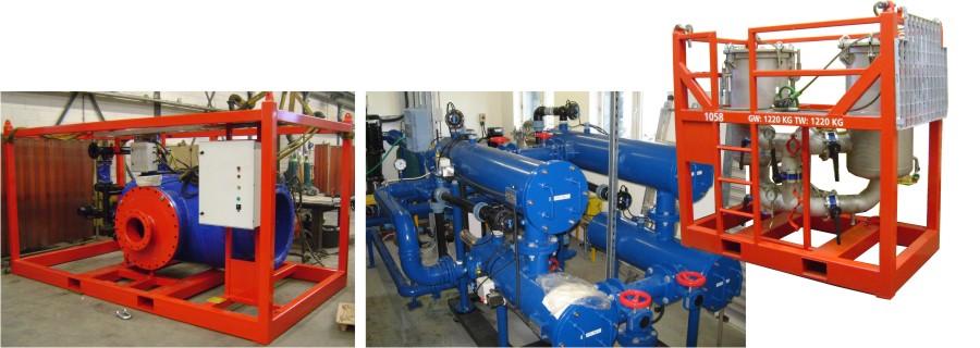Фильтры Yamit (Ямит). Варианты исполнения - стандартный, для высоких температур и давлений, из нержавеющих и специальных сталей. Модули.